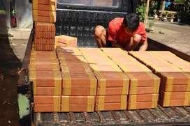 Produk bata tempel berkualitas dengan bahan vak tanah liat murni