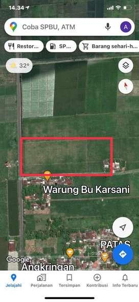 jual tanah 5 hektar cocok buat pabrik/gudang
