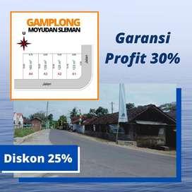 Tanah Murah Sleman Bayar Langsung Garansi PROFIT 30%