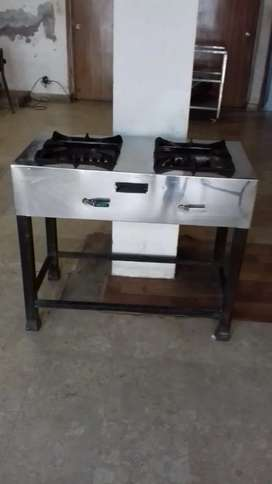 Two Burners Commercial Stove by Admiral