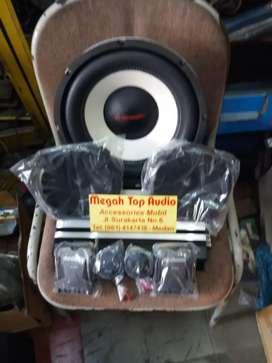 Paket sound lengkap + box pasang