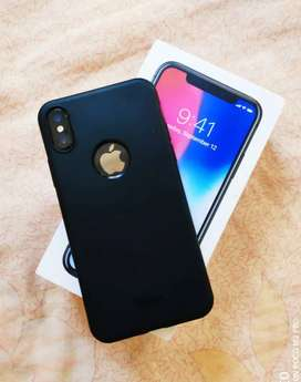 Iphone X 64 3 month use only 9 month warranty