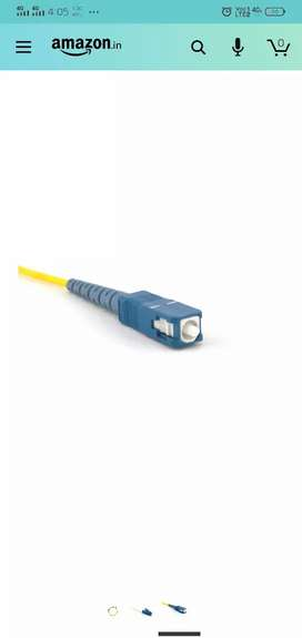 Lc lc and lc sc fiber  patch cord 200 piece available 50 per piece