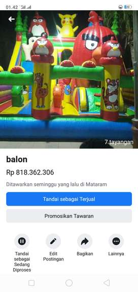 Rumah balon 6x8