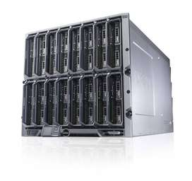 Server Dell BLADE M620 ada 12 processor garansi second