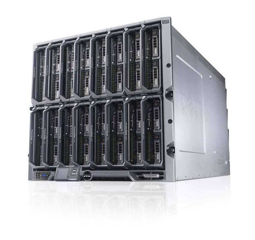 Server Dell BLADE M620 ada 12 processor garansi second 0