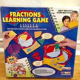 #AnekaBendaTepatGuna Fractions Learning Game