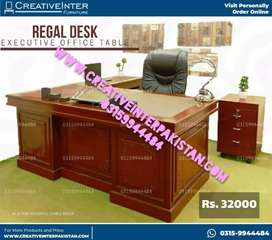 Office table leather top master style chair sofa bed set workstation