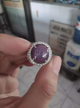 Batu Ruby Birma Purple Ungu