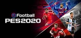 PES2020 reg3 original bisa online & offline