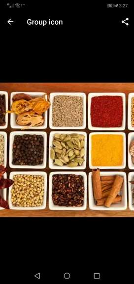 Spices and Dry fruits