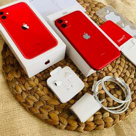 Iphone 11 64 Gb Ibox garansi Resmi Red