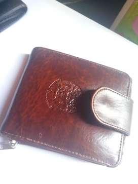 Dompet Kulit Gianni Versace Coklat