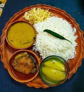 Traditional home made bengali food