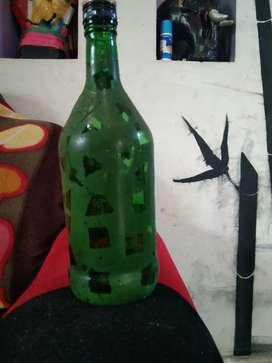Decrated bottle