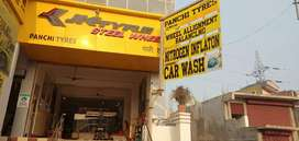 PANCHI TYRES and CAR CARE CENTER An exclusive Multibrand Tyre showroom