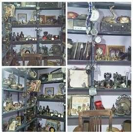 Antiques sale - Sell old Items - Antique -Decor - Brass - Vintage shop