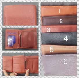 PREMIUM Quality Book Style Cow Leather Wallet For Men