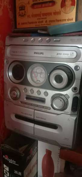 Philips sound system with spekar