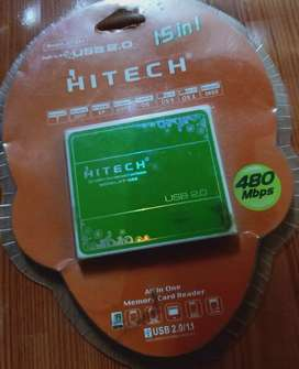 Hitech memory card reader