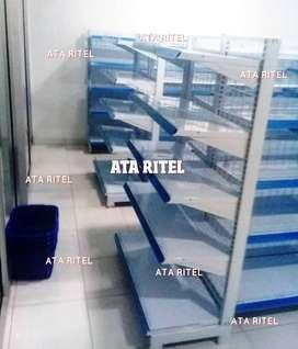 rak minimarket swalayan toko jual gondola perlengkapan ala alfa indo