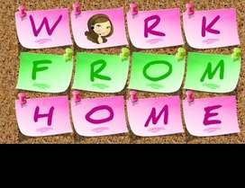 Make money via Internet- Work from Home Earn up-to 20000/- Monthly!