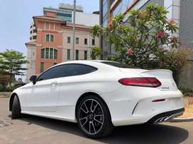 C43 Coupe AMG 2018 Nik17 White Km5000 Panoramic Sunroof PBD HUD 367Hp
