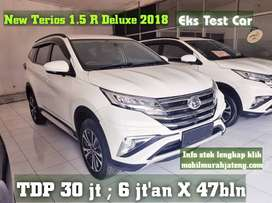New Terios 1.5 R deluxe 2018 eks testCAR bs TT rush jazz avanza