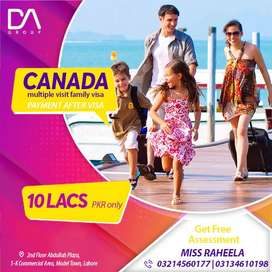 Payment After Visa for Canada Family Visa