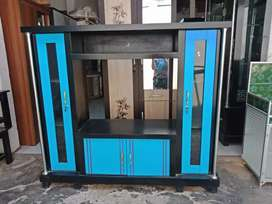 bufet tv avanza murah / meja tv minimalis murah warna biru
