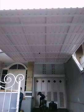 @26 canopy minimalis rangka tunggal atapnya alderon pvc anti berisik