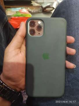 I phone 11 pro max 256 gb green