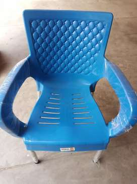 Raad paip chair Blue Coulour 4 piece