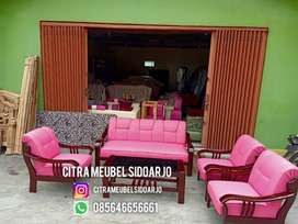 Reparasi kursi kayu sofa clasic minniso