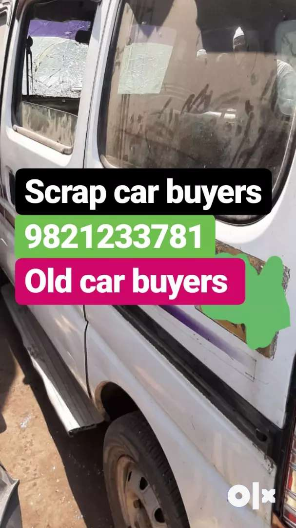 SCRAP CARS BUYERS/ ACCIDENTS OLD CARS 0