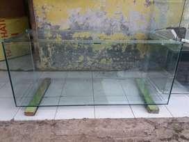 aquarium 120x50x50 kaca 8mili