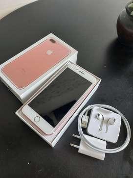 Iphone 7 + 128 gb mulus