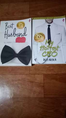Novel Best Seller Murah Meriah Masih bagus Mulus(2 buah 50rb)