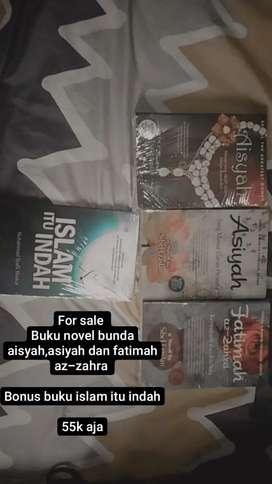 Buku novel bunda asiyah, aisyah dan fatimah az-zahra