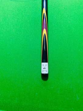 One piece Riley cue  full straight arrow and stick also straight 9mm
