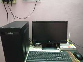 Gaming Pc with Monitor, Keyboard and Mouse  for Sale