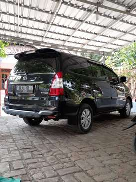 Toyota INOVA type G thn 2013 manual bensin