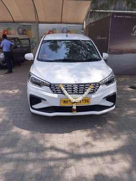 "Car on rent Brand new ertiga car 2021 ""12""rs per km"