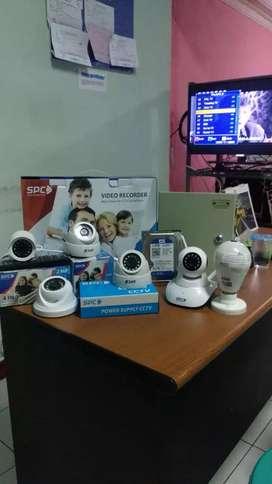 Jual kamera cctv berkualitas full HD 2 megapixell , paket dan grosir