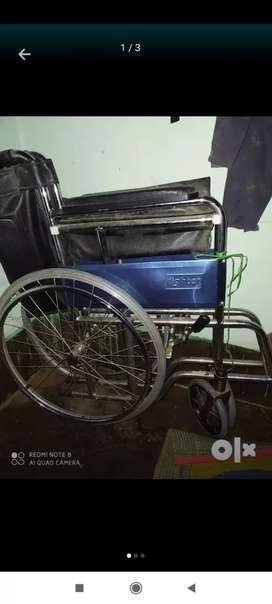 New wheel chair  not used  good condition