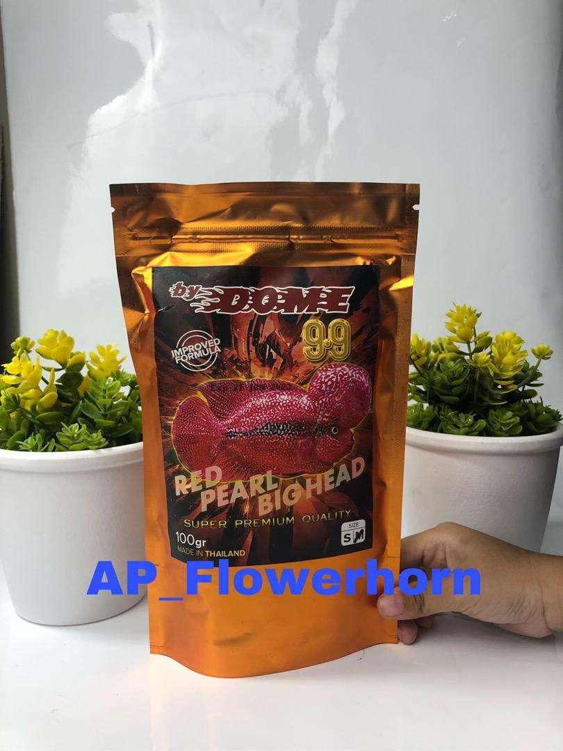 Pelet ikan Louhan 99 Dome 100 gr 100% original thailand