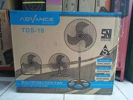 diantar Kipas angin industrial advance TDS-18 duduk/dinding/berdiri