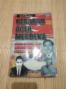 Dijual buku sejarah GAM COD Denpasar