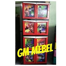 GM MEBEL Lemari Plastik Pekanbaru