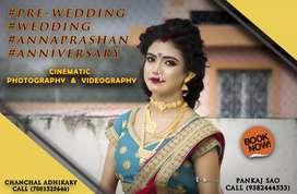 Camera photo shoot / videoshoot marriage ceremony